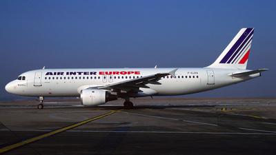 F-GJVA - Airbus A320-211 - Air Inter Europe