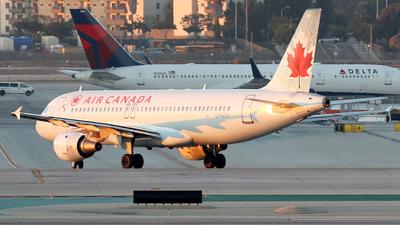 C-FNVV - Airbus A320-211 - Air Canada