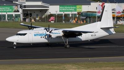 SE-LTR - Fokker 50 - Amapola Flyg