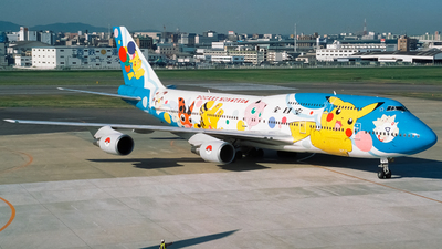 JA8964 - Boeing 747-481D - All Nippon Airways (ANA)