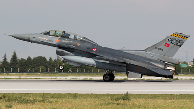 88-0014 - Lockheed Martin F-16D Fighting Falcon - Turkey - Air Force