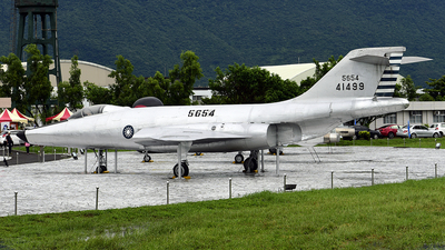5654 - McDonnell RF-101A Voodoo - Taiwan - Air Force