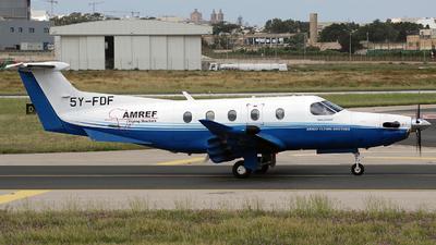5Y-FDF - Pilatus PC-12/47E - AMREF Flying Doctors