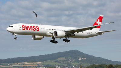 A picture of HBJNB - Boeing 7773DE(ER) - Swiss - © GeDo Photography