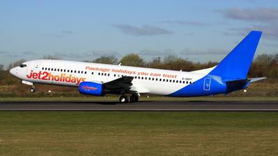 G-GDFF - Boeing 737-85P - Jet2.com