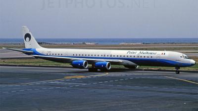F-GMFM - Douglas DC-8-71 - Point Mulhouse