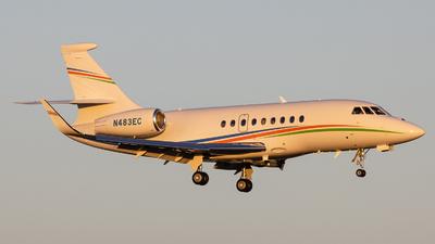 N483EC - Dassault Falcon 2000EX - Private