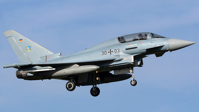 30-03 - Eurofighter Typhoon EF2000 - Germany - Air Force
