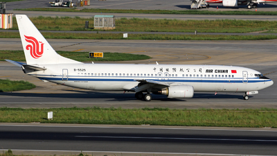 B-5525 - Boeing 737-86N - Air China