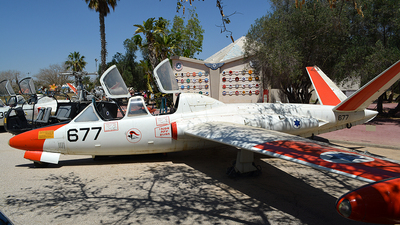 677 - Fouga CM-170 Tzukit - Israel - Air Force
