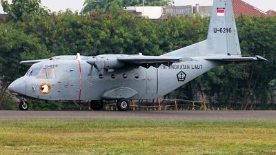U-6216 - CASA C-212-200 Aviocar - Indonesia - Navy