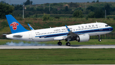 A picture of B301L - Airbus A320251N - China Southern Airlines - © TAORUNWAY35