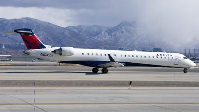 A picture of N693CA - Mitsubishi CRJ900LR - Delta Air Lines - © Michael Rodeback