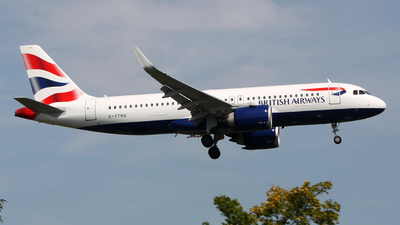 G-TTNG - Airbus A320-251N - British Airways
