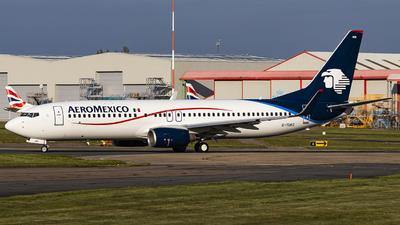 G-TUKC - Boeing 737-8FZ - Aeromexico