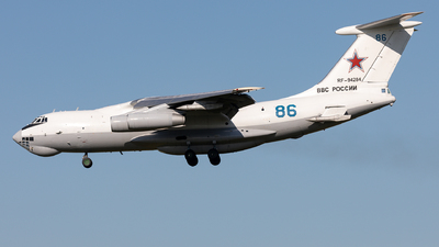 RF-94284 - Ilyushin IL-78M Midas - Russia - Air Force