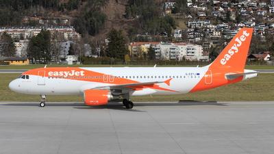 G-EZTJ - Airbus A320-214 - easyJet
