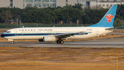 A picture of B5356 - Boeing 73781B - China Southern Airlines - © Jerry_Hammer
