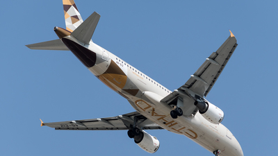 A6-EIZ - Airbus A320-212 - Etihad Airways