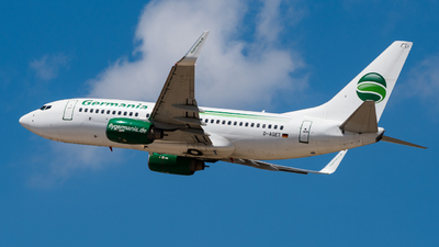A picture of DAGET - Boeing 73775B - [28109] - © Yaacov Glezer