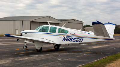 N6652D - Beechcraft V35B Bonanza - Private