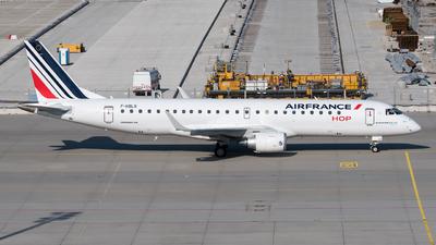 F-HBLQ - Embraer 190-100STD - Air France HOP