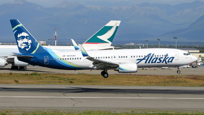 N556AS - Boeing 737-890 - Alaska Airlines