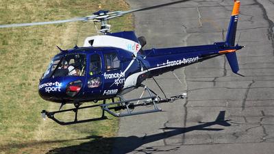 F-GKMB - Eurocopter AS 350B2 Ecureuil - Hélicoptères de France (HDF)