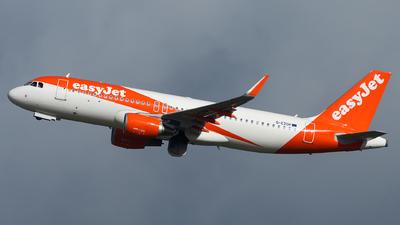 G-EZOP - Airbus A320-214 - easyJet