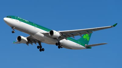 A picture of EIDUZ - Airbus A330302 - Aer Lingus - © Mingfei S