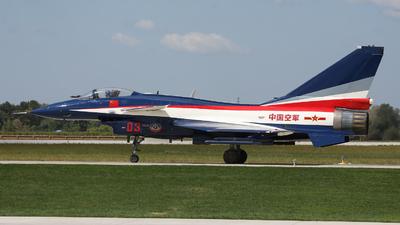 03 - Chengdu J10A - China - Air Force