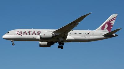 A picture of A7BCA - Boeing 7878 Dreamliner - Qatar Airways - © Chris Pitchacaren