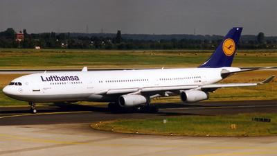 D-AIBF - Airbus A340-211 - Lufthansa