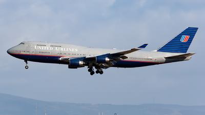N128UA - Boeing 747-422 - United Airlines