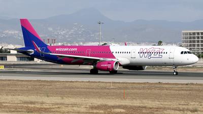 A picture of HALXB - Airbus A321231 - Wizz Air - © Javier Rodriguez - Amics de Son Sant Joan