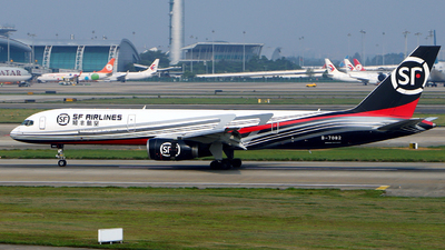 A picture of B7082 - Boeing 75725F(PCF) - SF Airlines - © Hatsune Kato