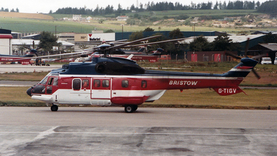 G-TIGV - Aérospatiale AS 332L1 Super Puma - Bristow Helicopters