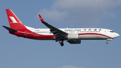 B-5832 - Boeing 737-8Q8 - Shanghai Airlines