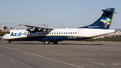 A picture of PRAKA - ATR 72600 - Azul Linhas Aereas - © Gabriel Wallace