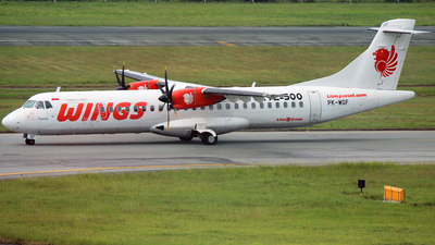 PK-WGF - ATR 72-212A(500) - Wings Air