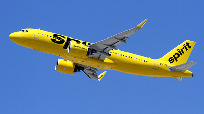 A picture of N927NK - Airbus A320271N - Spirit Airlines - © Liu Chen