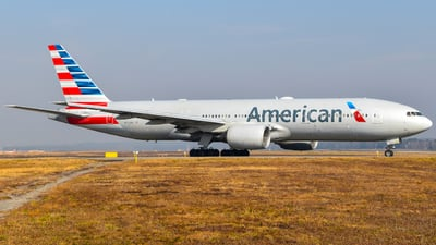 A picture of N770AN - Boeing 777223(ER) - American Airlines - © Raoul Andries