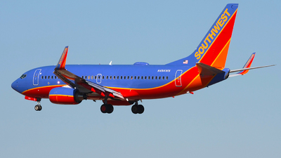 N494WN - Boeing 737-7H4 - Southwest Airlines