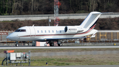 N200QS - Bombardier CL-600-2B16 Challenger 650 - NetJets Aviation