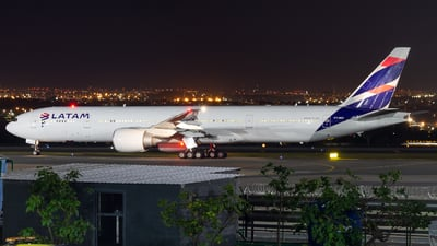 A picture of PTMUI - Boeing 77732W(ER) - LATAM Airlines - © Delta Fox