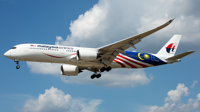 9M-MAF - Airbus A350-941 - Malaysia Airlines