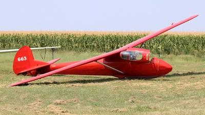 BGA663 - Slingsby T26B Kite 2B - Private