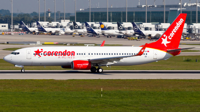 TC-COR - Boeing 737-8SH - Corendon Airlines