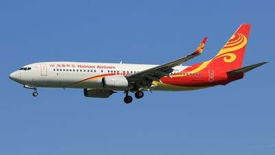 B-1928 - Boeing 737-84P - Hainan Airlines