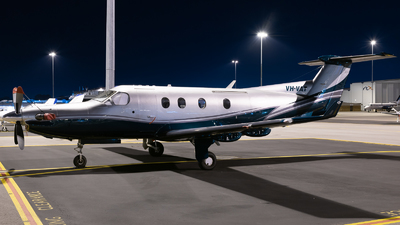 VH-VAT - Pilatus PC-12/45 - Private